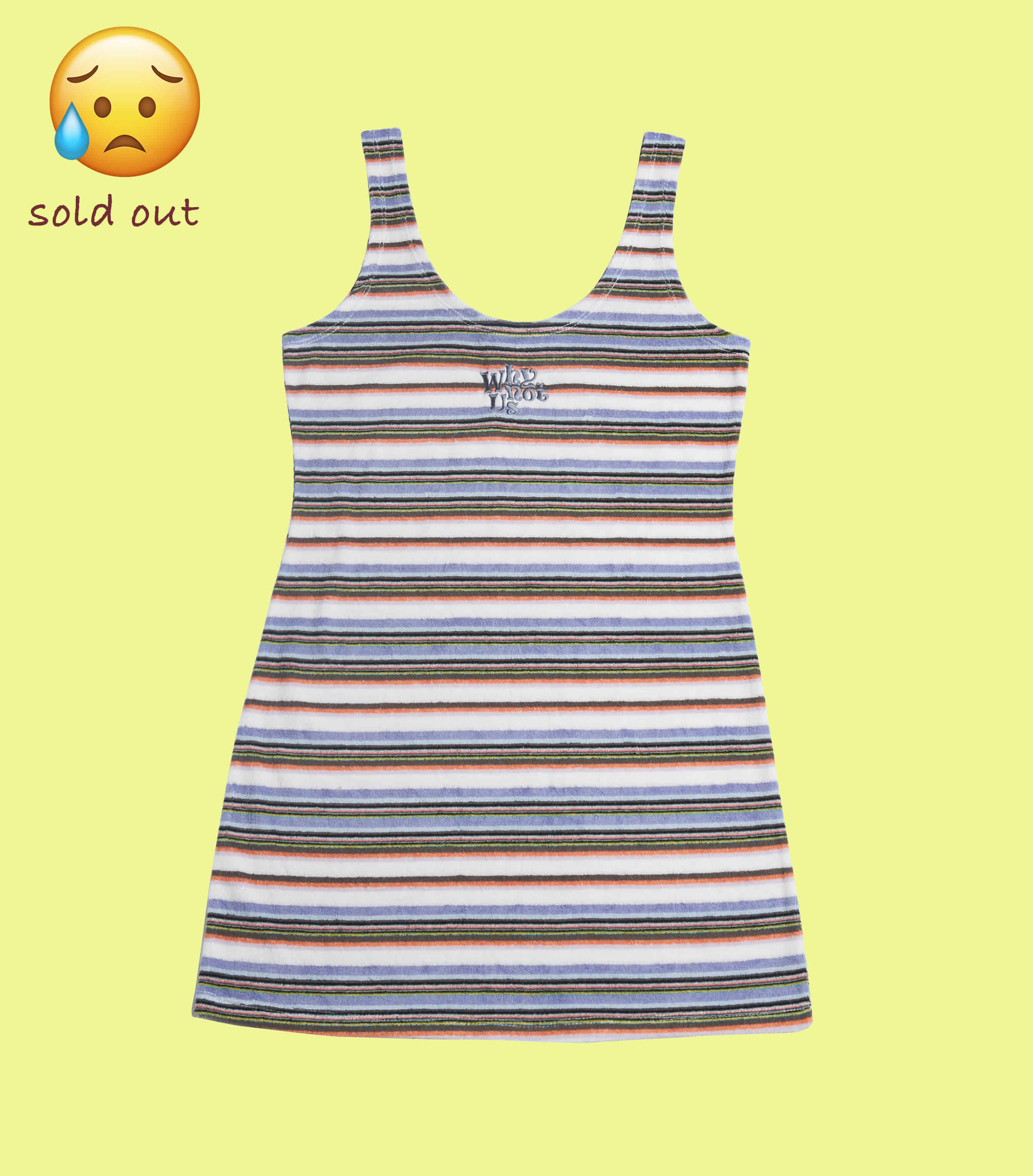 Towel stripe dress