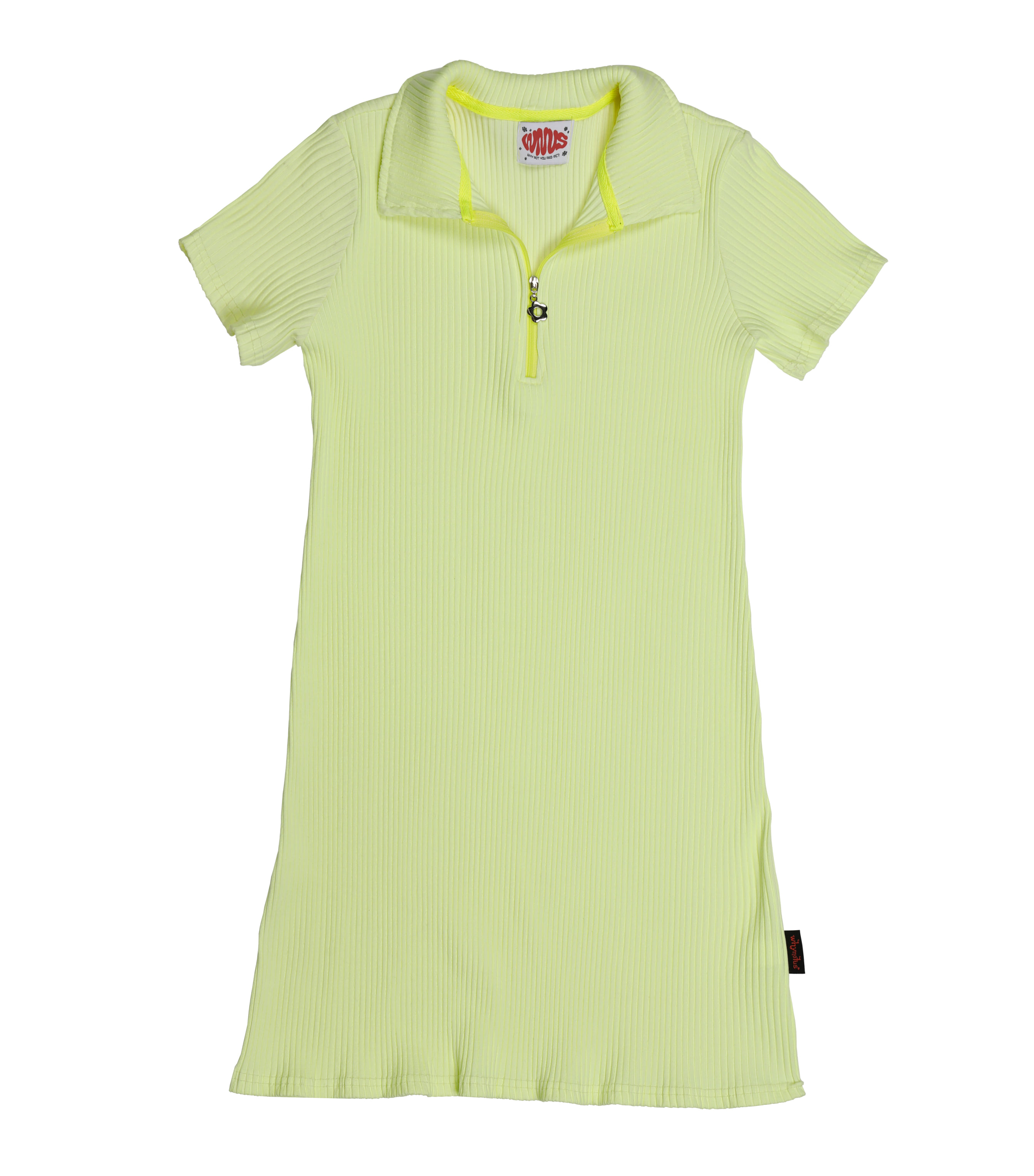 tennis dress-lemon