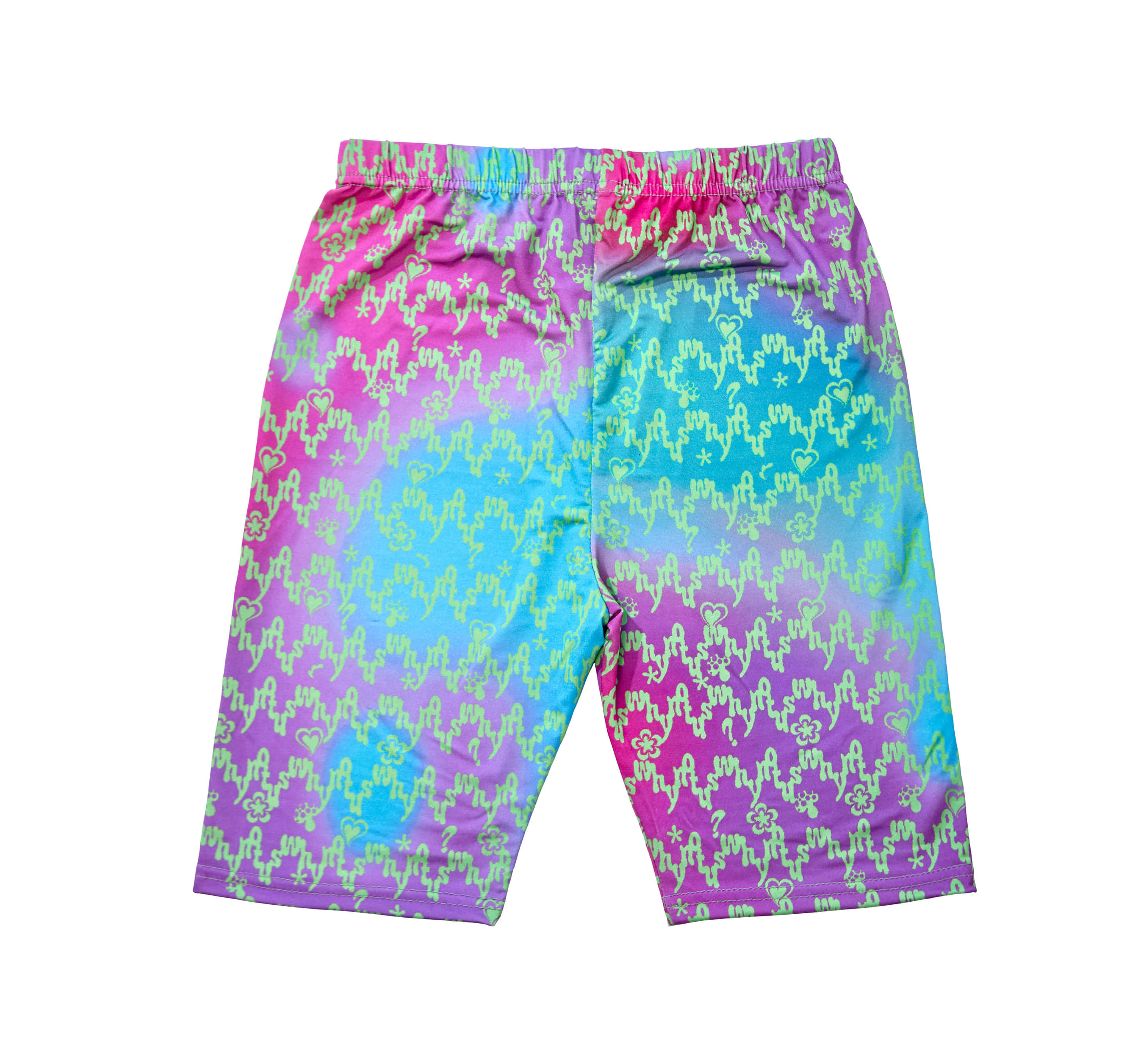 WNUS x RMHN bike shorts - shooting star