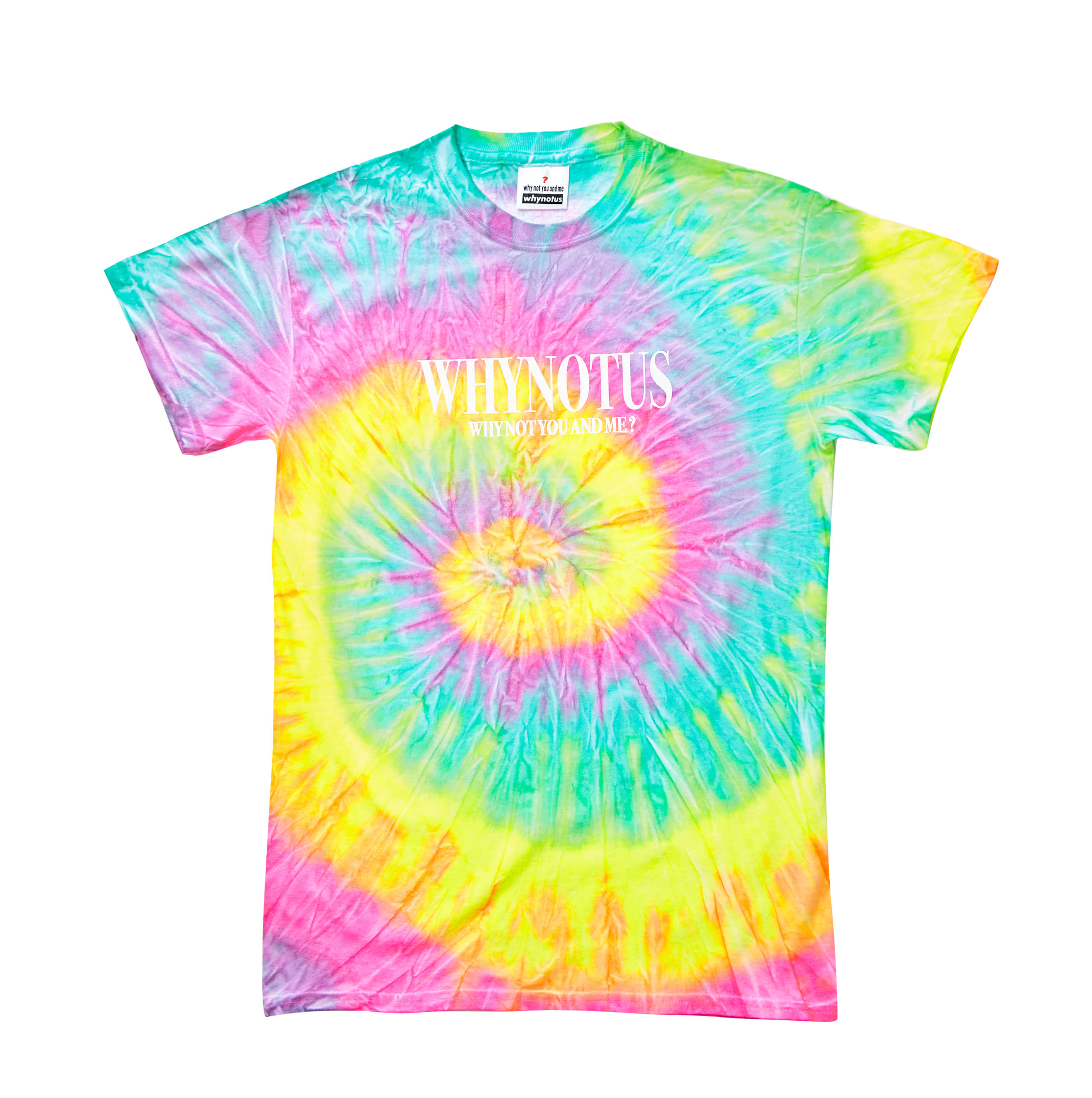 Tie dye T - cotton candy