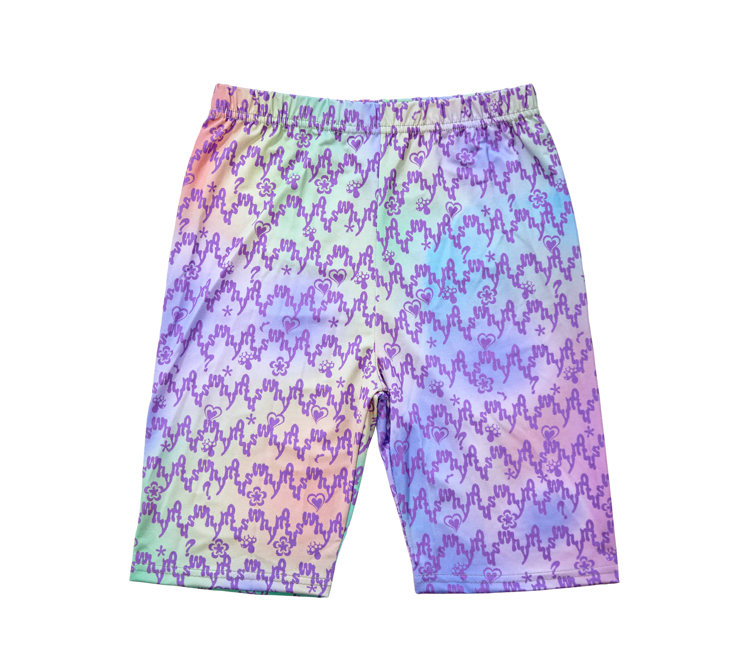 WNUS x RMHN bike shorts - cotton candy