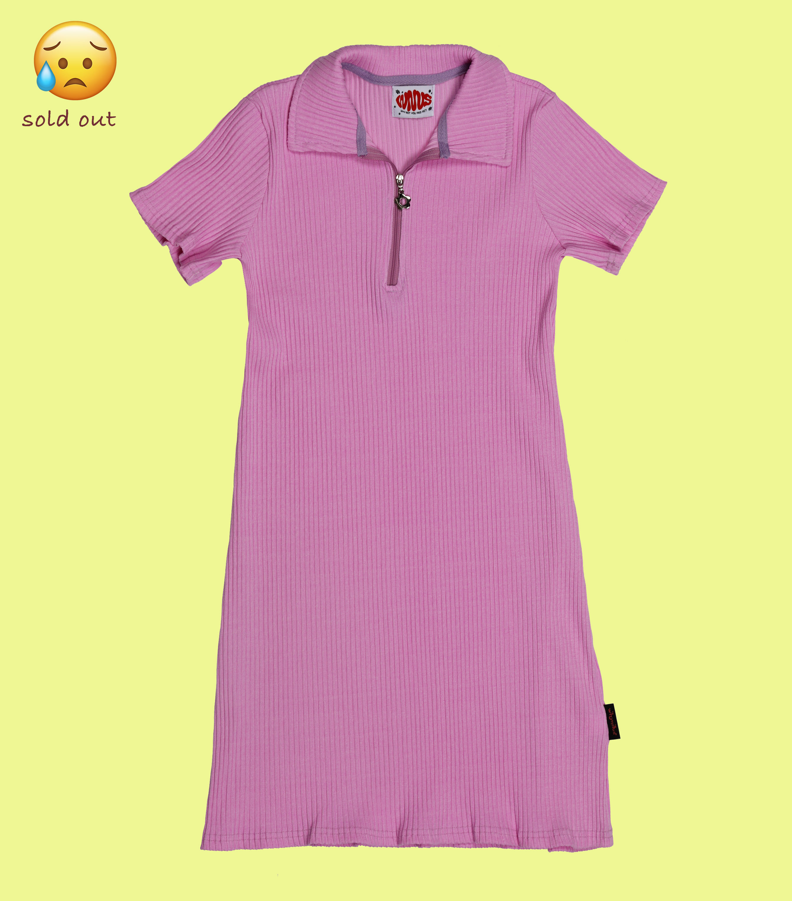 tennis dress-cherry pink