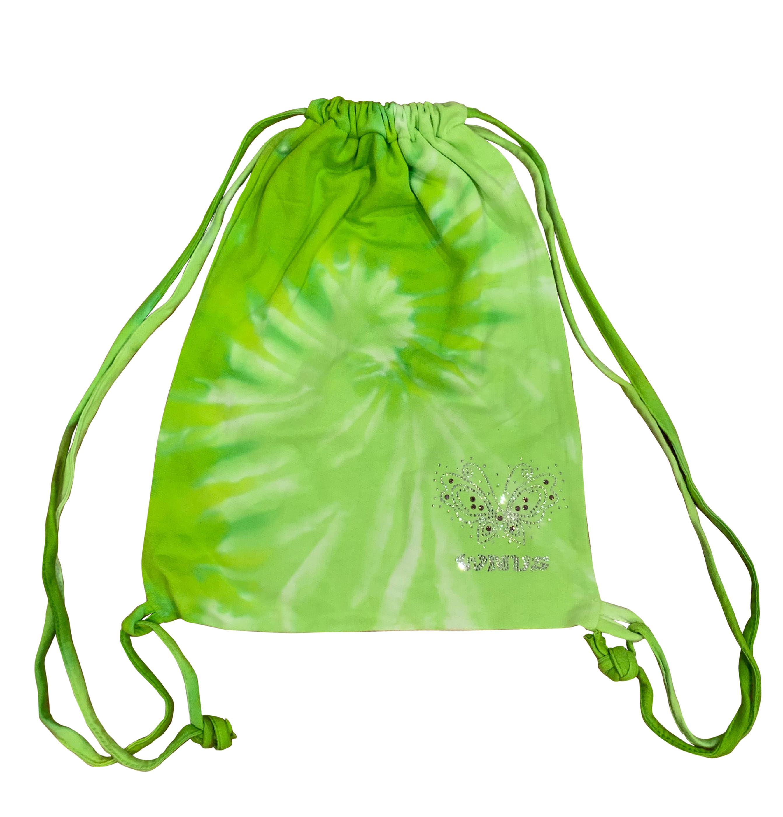 drawstring bag-green